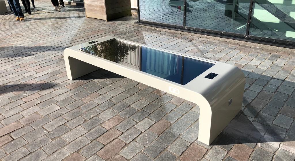 Solar-bench-Amsterdam